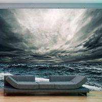 Ocean waves fotostat - flot foto tapet til væggen