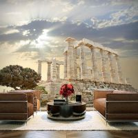Akropolis, Grækenland fotostat - flot foto tapet til væggen