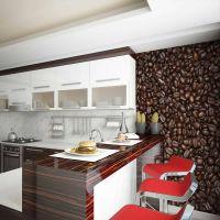 Coffee beans fotostat - flot foto tapet til væggen