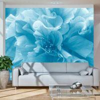 Blue azalea fotostat - flot foto tapet til væggen