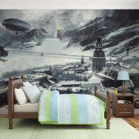 Winter in Russia fotostat - flot foto tapet til væggen