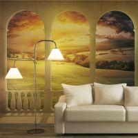 Dream about magical fields fotostat - flot foto tapet til væggen