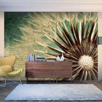 Focus on dandelion fotostat - flot foto tapet til væggen