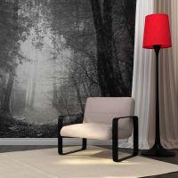 Forest of Shadows fotostat - flot foto tapet til væggen