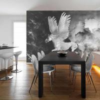 Pegasus på vej til Olympen fotostat - flot foto tapet til væggen