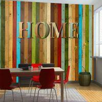 Home decoration fotostat - flot foto tapet til væggen