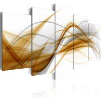 Vind abstraktionsniveau canvas print - flot billede på lærred