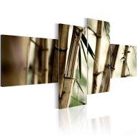 Bamboo inspiration canvas print - flot billede på lærred