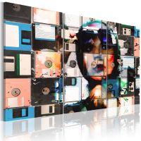 Memory snapshots canvas print - flot billede på lærred