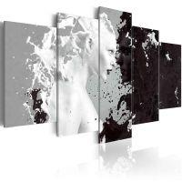 Milk & Choco - 5 dele canvas print - flot billede på lærred