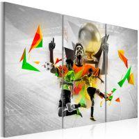 Football dreams canvas print - flot billede på lærred