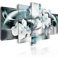 Platinum sea canvas print - flot billede på lærred