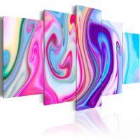 Pastel ponds canvas print - flot billede på lærred