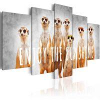 Enjoy the sunshine canvas print - flot billede på lærred