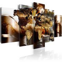 Honey Continents canvas print - flot billede på lærred