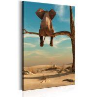 Rest in the Desert canvas print - flot billede på lærred