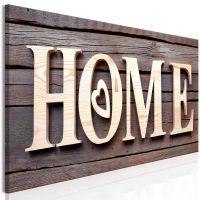 Wooden Home (1 del)  canvas print - flot billede på lærred