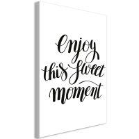 Enjoy This Sweet Moment (1 del)  canvas print - flot billede på lærred
