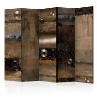 Metal Alliance II skærmvæg. Dekorativ flytbar skillevæg / rumdeler til hjem eller kontor.
