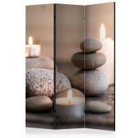 Rest skærmvæg. Dekorativ flytbar skillevæg / rumdeler til hjem eller kontor.