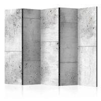 Concretum murum II skærmvæg. Dekorativ flytbar skillevæg / rumdeler til hjem eller kontor.