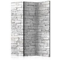 White Spell skærmvæg. Dekorativ flytbar skillevæg / rumdeler til hjem eller kontor.