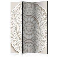Mandala 3D skærmvæg. Dekorativ flytbar skillevæg / rumdeler til hjem eller kontor.