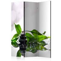 Zen skærmvæg. Dekorativ flytbar skillevæg / rumdeler til hjem eller kontor.