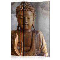 Buddha skærmvæg. Dekorativ flytbar skillevæg / rumdeler til hjem eller kontor.