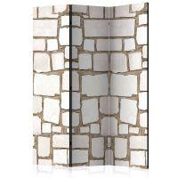 Stone Riddle skærmvæg. Dekorativ flytbar skillevæg / rumdeler til hjem eller kontor.