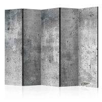 Fresh Concrete II skærmvæg. Dekorativ flytbar skillevæg / rumdeler til hjem eller kontor.