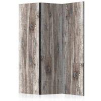 Stylish Wood skærmvæg. Dekorativ flytbar skillevæg / rumdeler til hjem eller kontor.