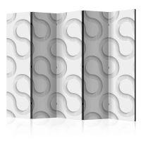Serpentines II skærmvæg. Dekorativ flytbar skillevæg / rumdeler til hjem eller kontor.