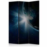 Earth skærmvæg. Dekorativ flytbar skillevæg / rumdeler til hjem eller kontor.