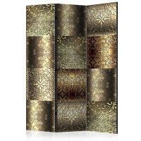 Metal Plates skærmvæg. Dekorativ flytbar skillevæg / rumdeler til hjem eller kontor.