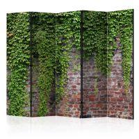 Brick and ivy II skærmvæg. Dekorativ flytbar skillevæg / rumdeler til hjem eller kontor.