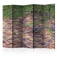 Wheel of Time II skærmvæg. Dekorativ flytbar skillevæg / rumdeler til hjem eller kontor.