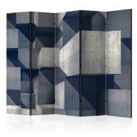 Concrete city II skærmvæg. Dekorativ flytbar skillevæg / rumdeler til hjem eller kontor.