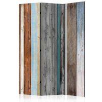 Colors Arranged skærmvæg. Dekorativ flytbar skillevæg / rumdeler til hjem eller kontor.