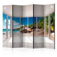 Heavenly Illusion II skærmvæg. Dekorativ flytbar skillevæg / rumdeler til hjem eller kontor.
