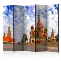 Red Square, Moscow, Russia II skærmvæg. Dekorativ flytbar skillevæg / rumdeler til hjem eller kontor.