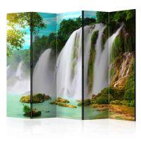 Detian - waterfall (China) II skærmvæg. Dekorativ flytbar skillevæg / rumdeler til hjem eller kontor.