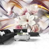Artistic Magnolias fotostat - flot foto tapet til væggen