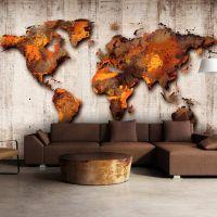 World of Bronze fotostat - flot foto tapet til væggen