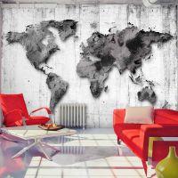 World in Shades of Gray fotostat - flot foto tapet til væggen