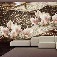 Pearls and Magnolias fotostat - flot foto tapet til væggen