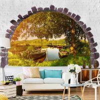 Summer Lake fotostat - flot foto tapet til væggen