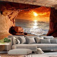 Exit from the Cave fotostat - flot foto tapet til væggen