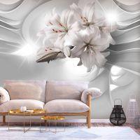 Lilies in the Tunnel fotostat - flot foto tapet til væggen
