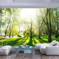 Sunny May Day fotostat - flot foto tapet til væggen